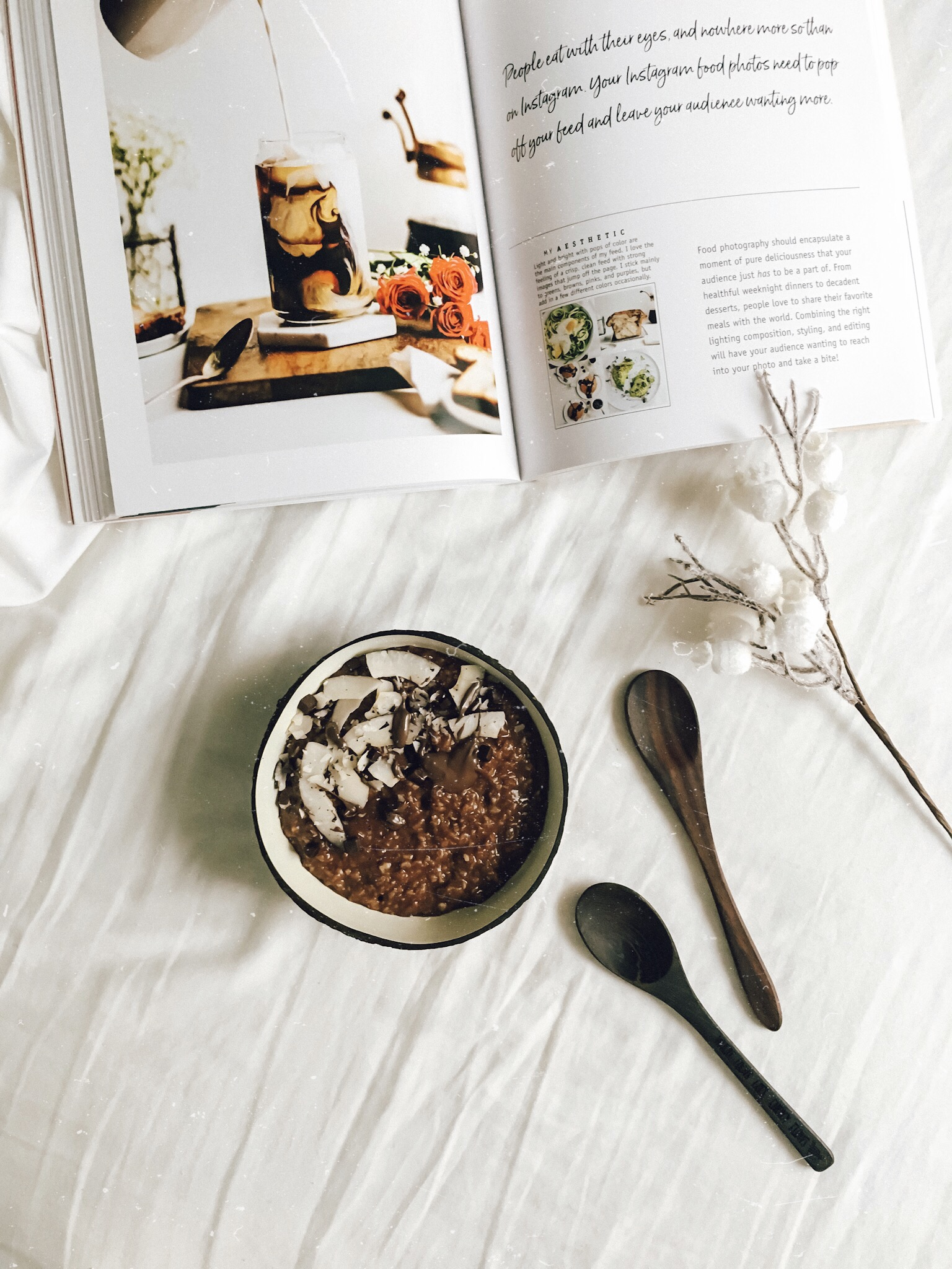 Triple Chocolate Oatmeal