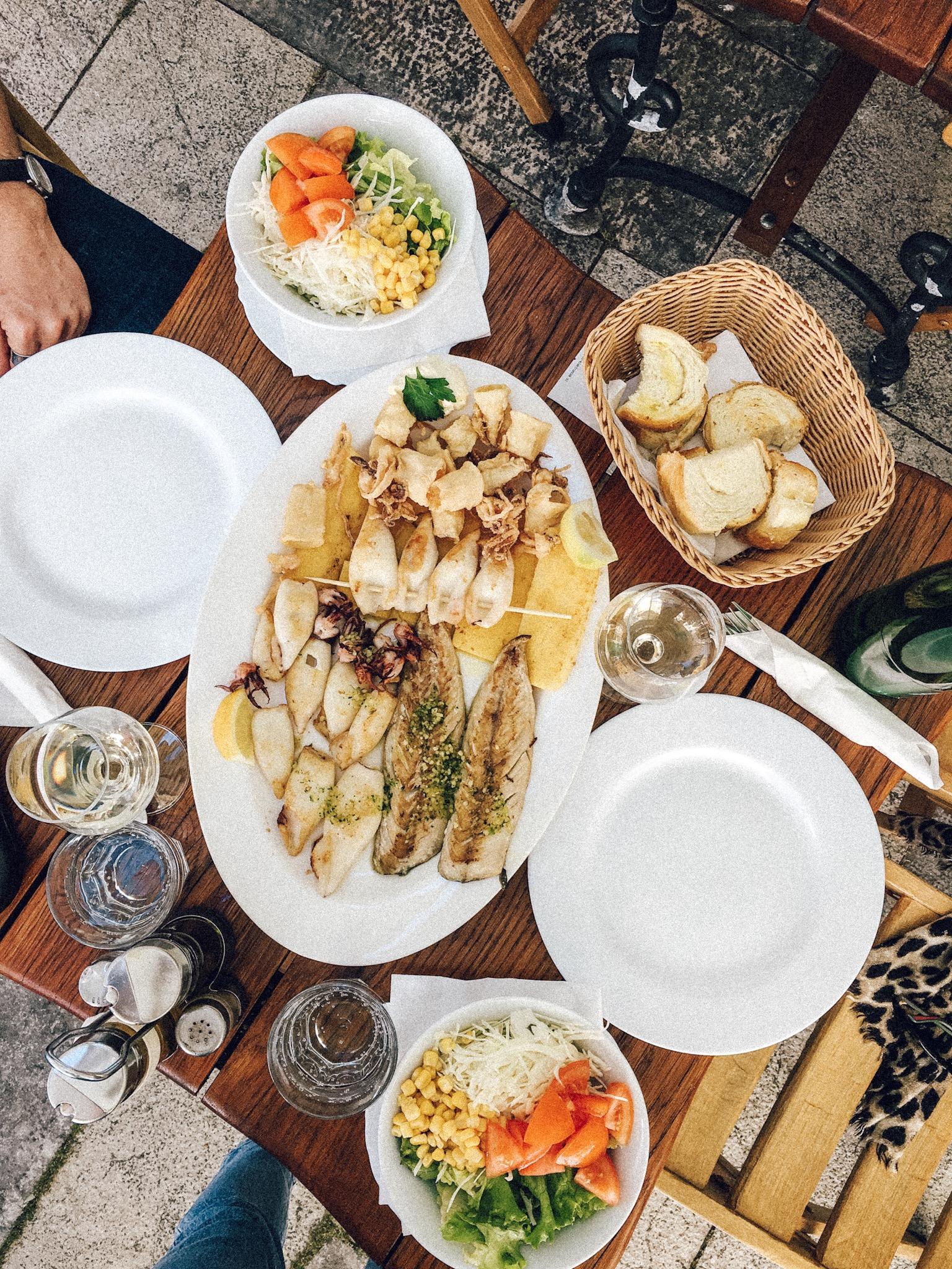 Squid-platter