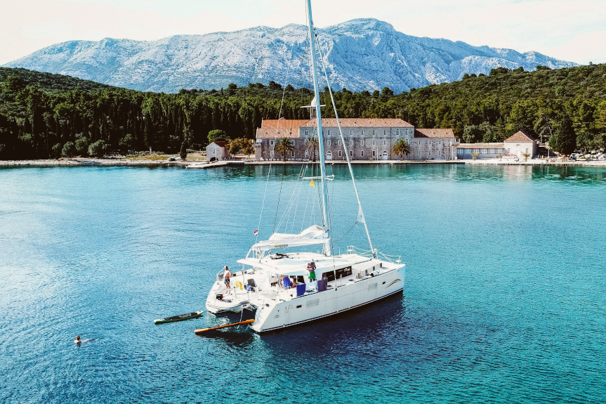 Sailing in Croatia
