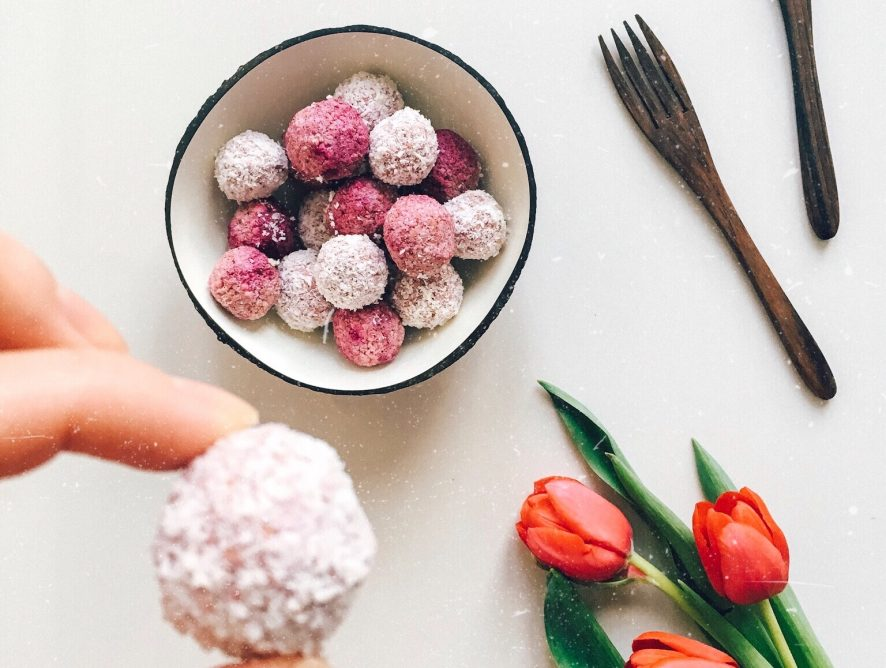 Vegan Strawberry Bliss Balls